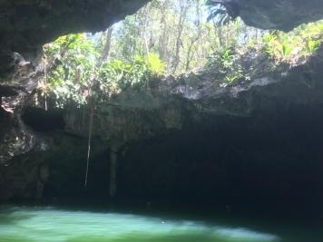 Jade Cavern in Cozumel, Mexico